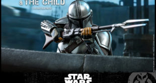 Hot Toys TMS014–剧集《The Mandalorian》The Mandalorian and The Child 1/6 比例人偶套组