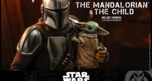 Hot Toys TMS015 – 劇集《The Mandalorian》The Mandalorian and The Child (Deluxe Version) 1/6 比例人偶套組(豪華版)