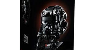 LEGO 75274 电影《EP V》钛战机驾驶员头盔 TIE Fighter Pilot Helmet