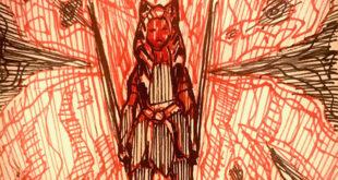 动画剧集《The Clone Wars》监制 Dave Filoni 分享 Ahsoka Tano 的画作
